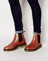 Red Tape Brogue Chelsea Boots
