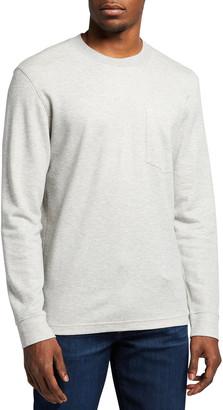Ermenegildo Zegna Men's Solid Crew Sweatshirt