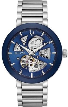 Bulova Men's 96A204 'Modern' Stainless Steel Watch - Multi