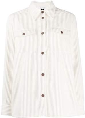 M Missoni corduroy button-front jacket