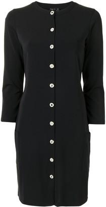 agnès b. Button-Front Jersey Dress