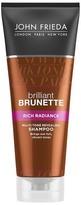 John Frieda Brilliant Brunette Rich Radiance Shampoo 250ml