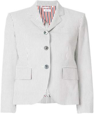 Thom Browne striped short blazer