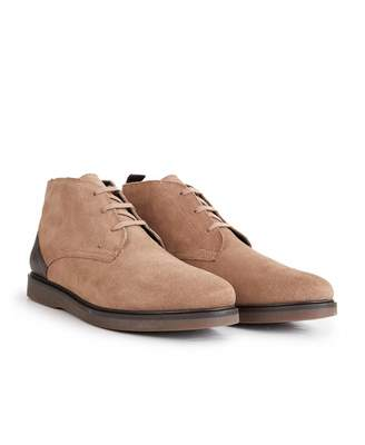 H By Hudson Calverston Suede Chukka Boots Colour: TAUPE, Size: UK 8