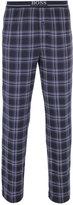 Boss Navy Tartan Long Sleeve Pyjama Set