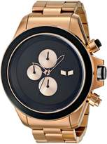 Vestal Men's ZR3019 ZR-3 Minimalist Rosegold Chronograph Watch