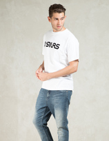 Silas White Old Logo Flocky S/S T-Shirt