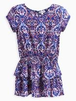 Splendid Little Girl Printed Drop Waist Dress