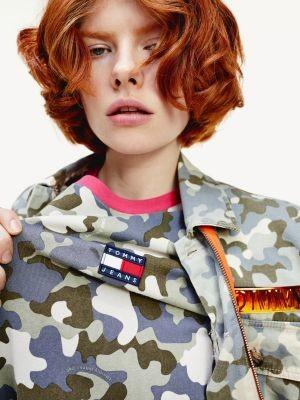 Tommy Hilfiger Camouflage Short Sleeve T-Shirt Dress