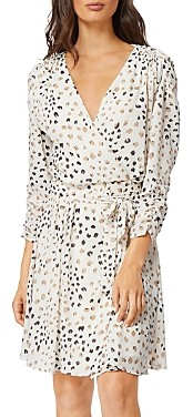 Habitual Arabella Printed Faux Wrap Dress