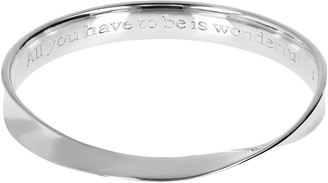 Linea by Louis Dell'Olio Sterling Anniversary Bangle