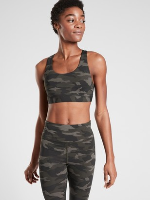 Athleta Ultimate Printed Bra In Supersonic A-C