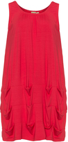 Isolde Roth Plus Size Draped hem jersey dress