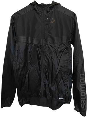 Salomon Black Synthetic Jackets