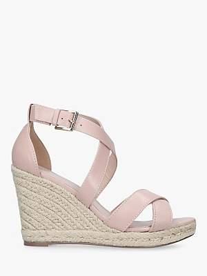 Carvela Smashing Cross Strap Wedge Heel Sandals