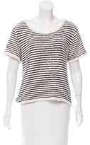 Rag & Bone Patterned Short Sleeve Top
