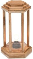 ZUO Latter Teak Large Floor Lamp