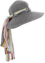 Missoni Zigzag Scarf Sun Hat