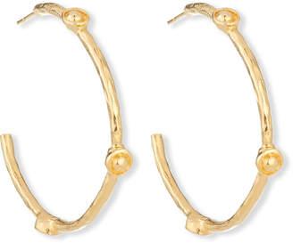 Devon Leigh Bullet Hoop Earrings