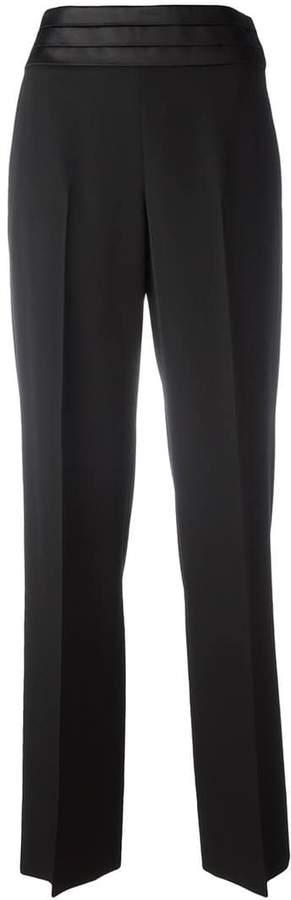 Maison Margiela pleated waistband trousers