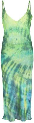 Collina Strada tie dye slip dress