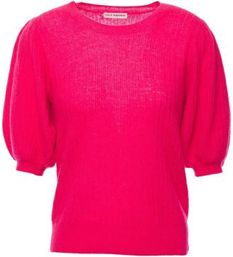 Ulla Johnson Ramia Gathered Cashmere-blend Top