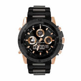Rocawear Mens Black Strap Watch-Rm0216rg1-264