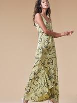 Diane von Furstenberg Printed Floor Length Slip Dress