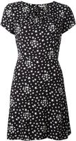 Saint Laurent star print shift dress - women - Silk/Viscose - 40