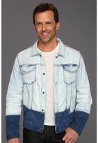 Calvin Klein Jeans Pieced Denim Jacket (Light Wash) - Apparel