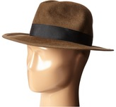 Hat Attack Luxe Medium Brim with Classic Bow