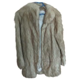 Asos Brown Faux fur Coat for Women