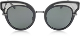 Bottega Veneta BV0094S Acetate Cat Eye Women's Sunglasses