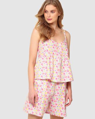 SACHA DRAKE - Women's Pink Sleepwear - Swan Around Short - Size One Size, 16 at The Iconic