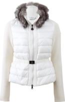 Moncler Belted Puff Cardigan Jacket