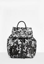 Missguided Multi Sequin Backpack