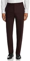 Canali Burg Stretch Melange Classic Fit Trousers