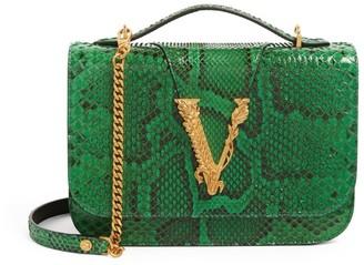 Versace Python Virtus Shoulder Bag