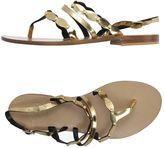 Aperlaï Toe strap sandals