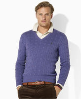 Polo Ralph Lauren Sweater, Cable V-Neck Sweater