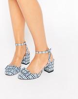 Asos SPREE Bow Detail Heels
