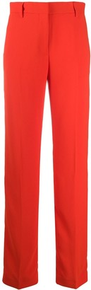 MSGM High-Rise Straight-Leg Trousers
