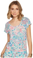 Lilly Pulitzer Inara Linen Beach Top Women's Clothing