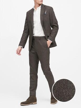 Banana Republic Slim Donegal Suit Jacket