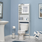 "Beachcrest Home Gulf 23.5"" x 68"" Free Standing Over the Toilet"