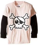 Nununu Super Soft Skull Patch T-Shirt (Infant/Toddler/Little Kids)