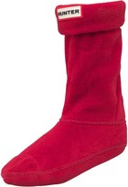 Hunter Childrens Boot Socks Red