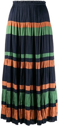 Ulla Johnson Striped Maxi Skirt