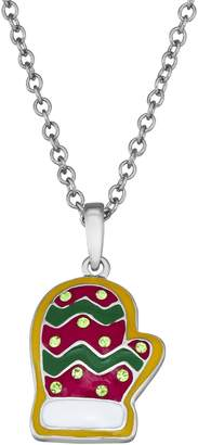 Kitschy Christmas Holiday Cookie Pendant Necklace
