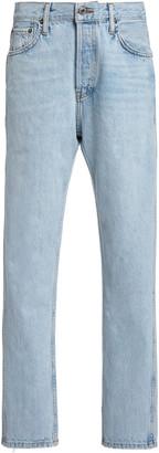 RE/DONE 50s Cigarette Rigid Straight-Leg Jeans